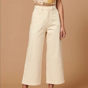 Whimsy + Row Flora Pant in Natural